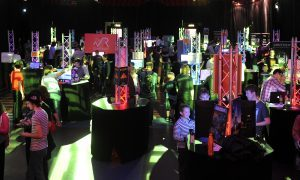 The final day of the 2016 Dare ProtoPlay festival in the Caird Hall.