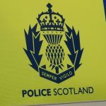 Council van tips over on A92 Arbroath road