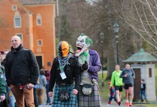 The hoards gather at Dunfermline Comic Con 2016