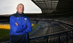 Scotland's head coach Vern Cotter has made one change for the trip to Paris.