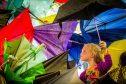 Harriet Bryce from Auchtermuchty enjoys lthe 2016 festival