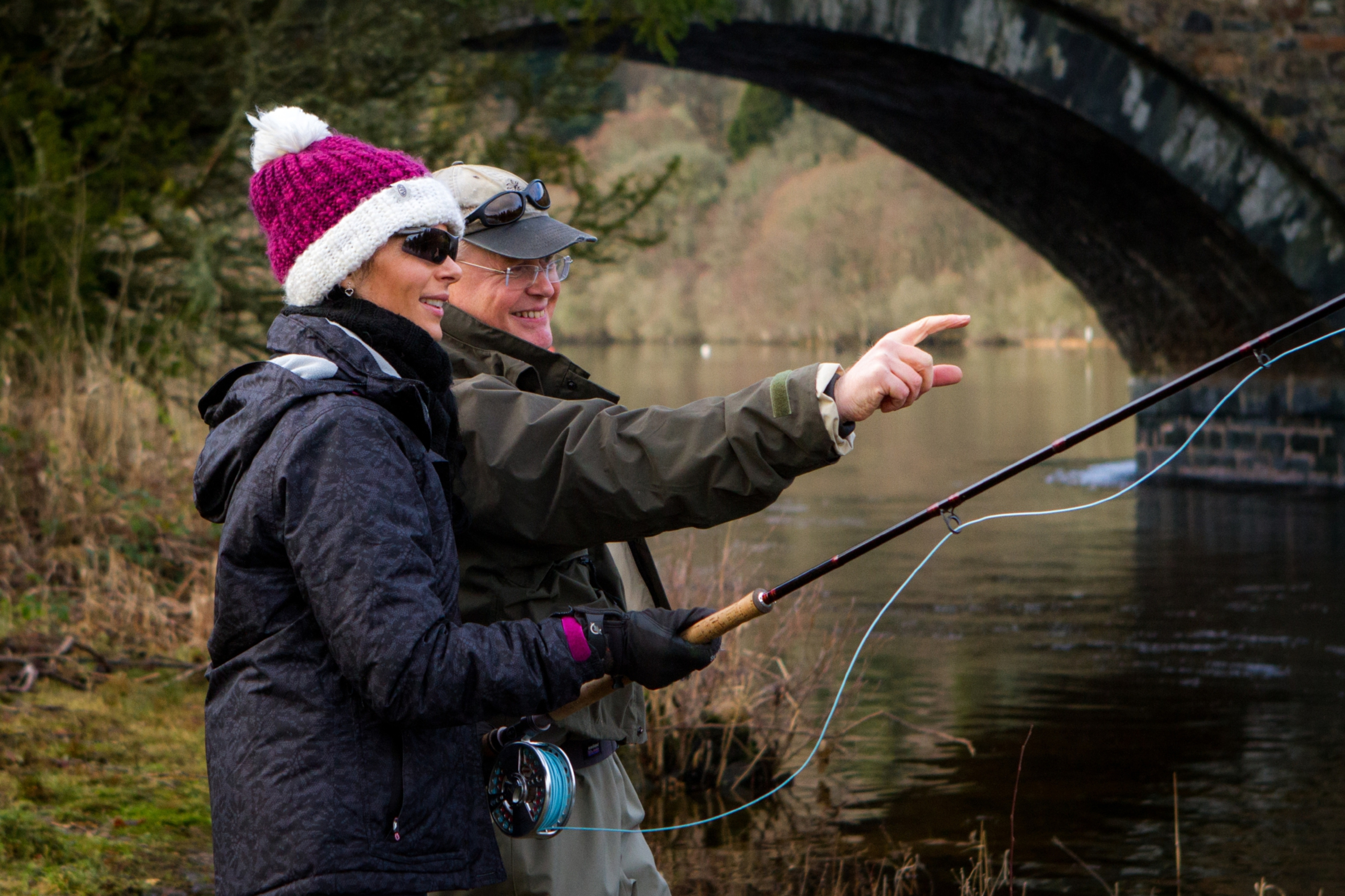 Fly fishing on the tay the courier for Fly fishing shop near me