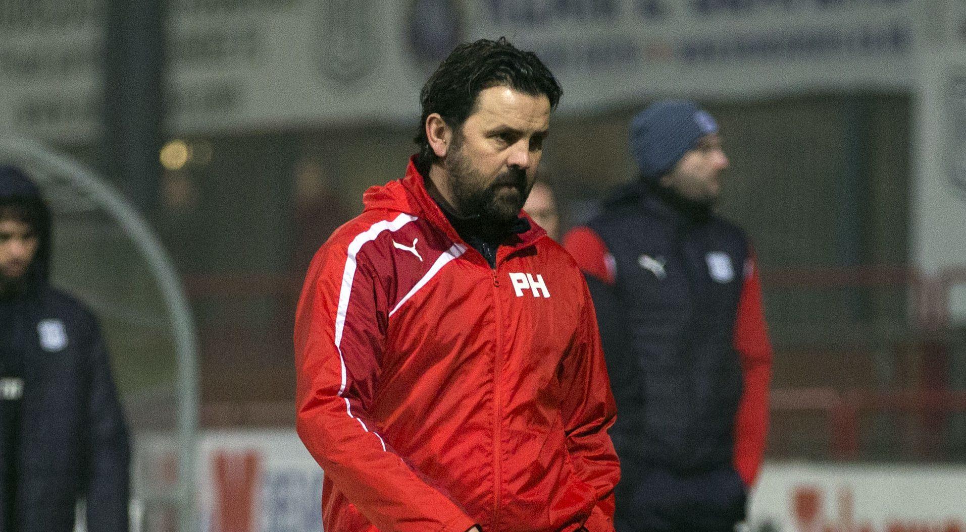 Paul Hartley after the St Mirren shock.