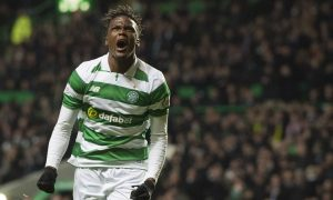 Dedryck Boyata celebrates his goal.