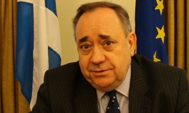 Alex Salmond has said a second independence referendum could take place next autumn
