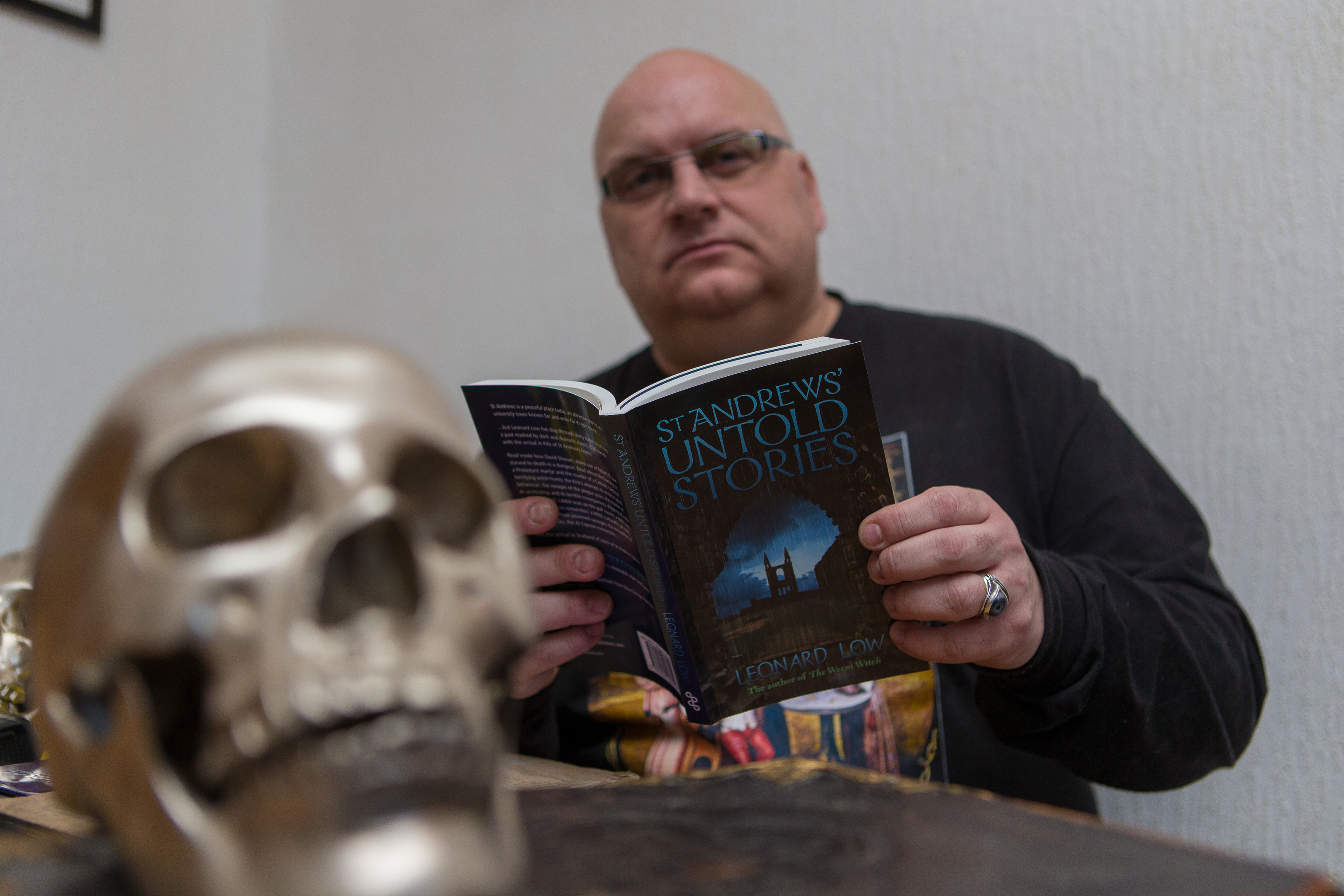 Author Leonard Low.