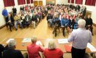 About 300 people attended talks in Scone over highly contentious housing plans