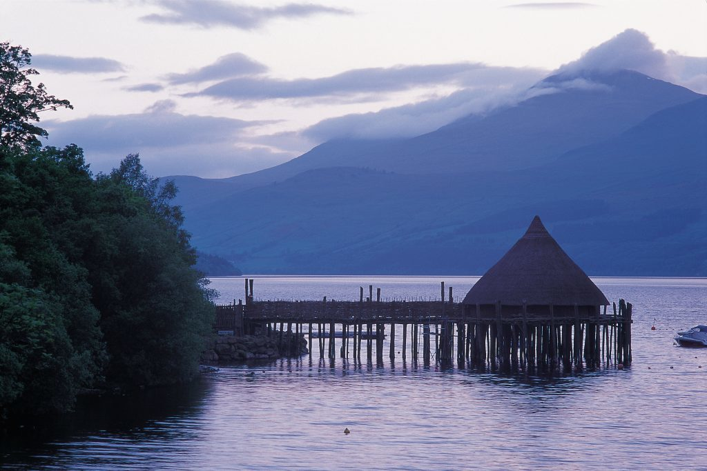 The Scottish Crannog Centre will host monthly events as it celebrates its 20th Anniversary.