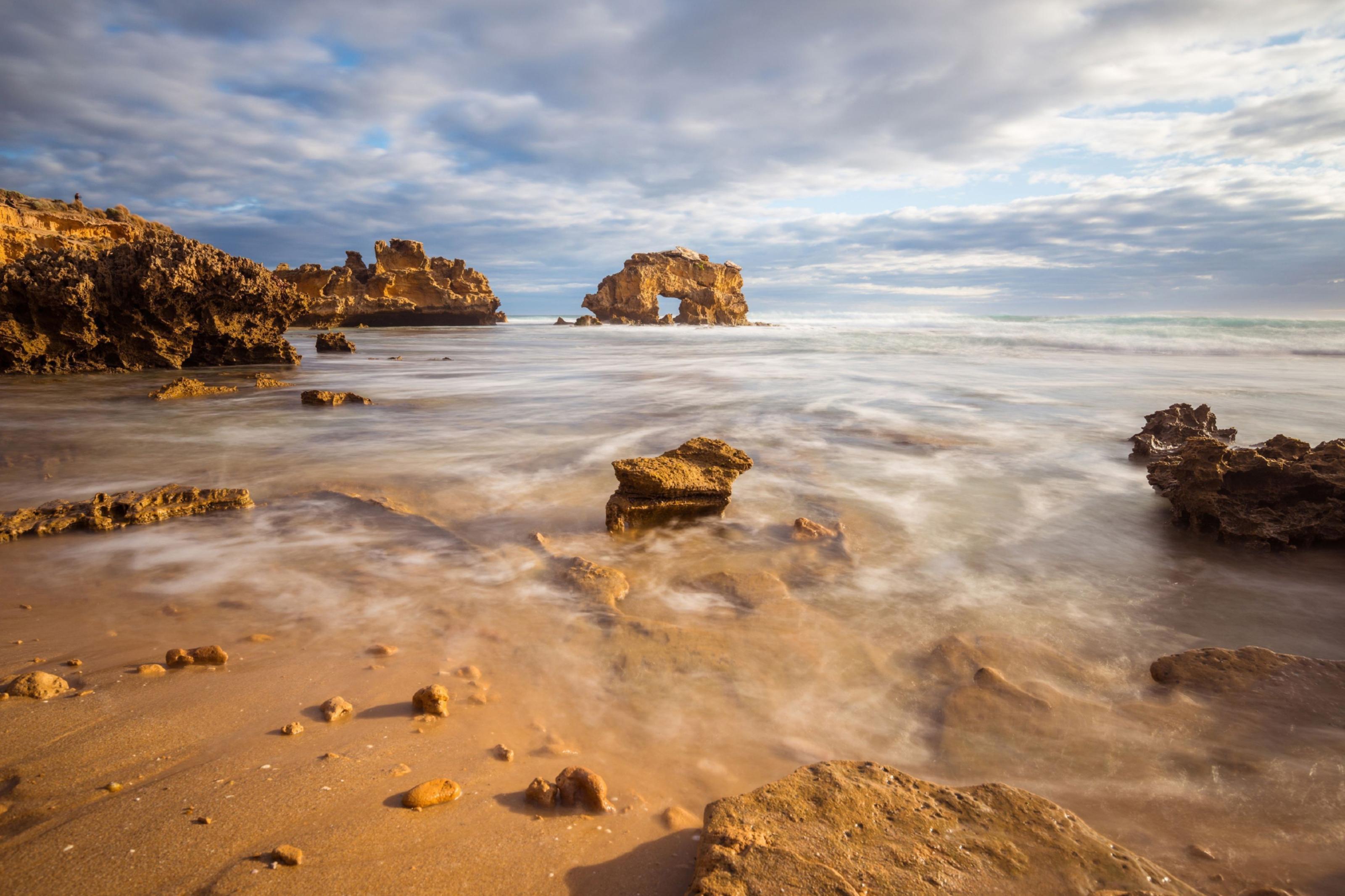 Sorrento Back beach in Mornington Peninsula of Victoria state of Australia.