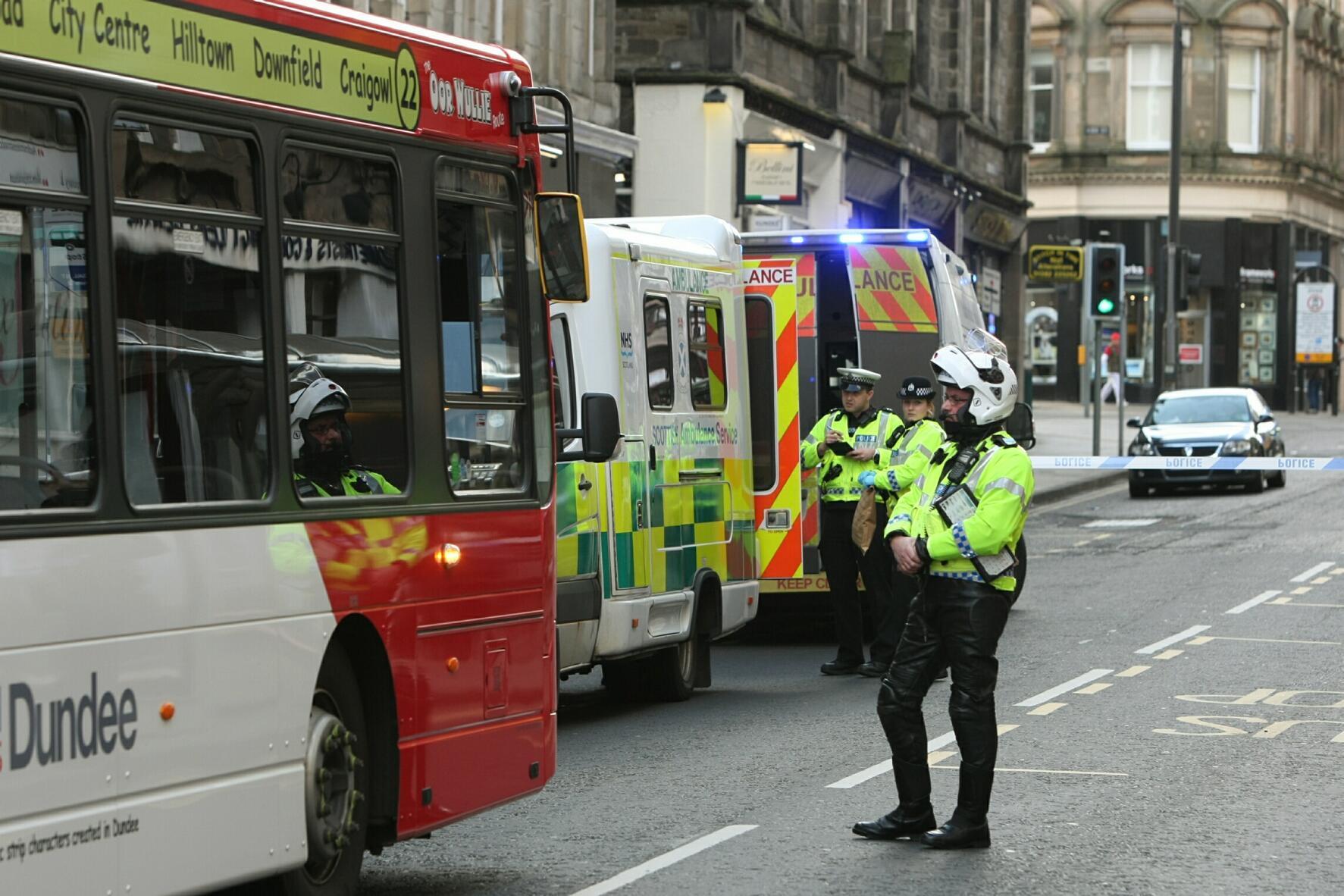 The scene of the crash back in 2012.