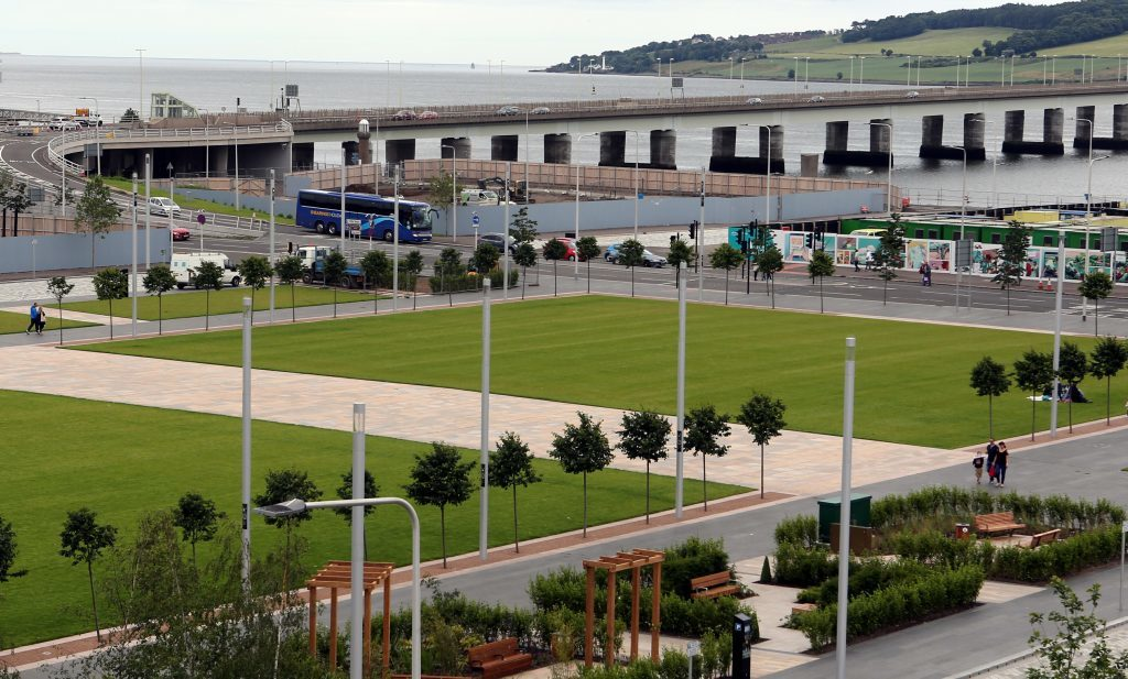 Slessor Gardens has been designed to double up as a venue for concerts and events.