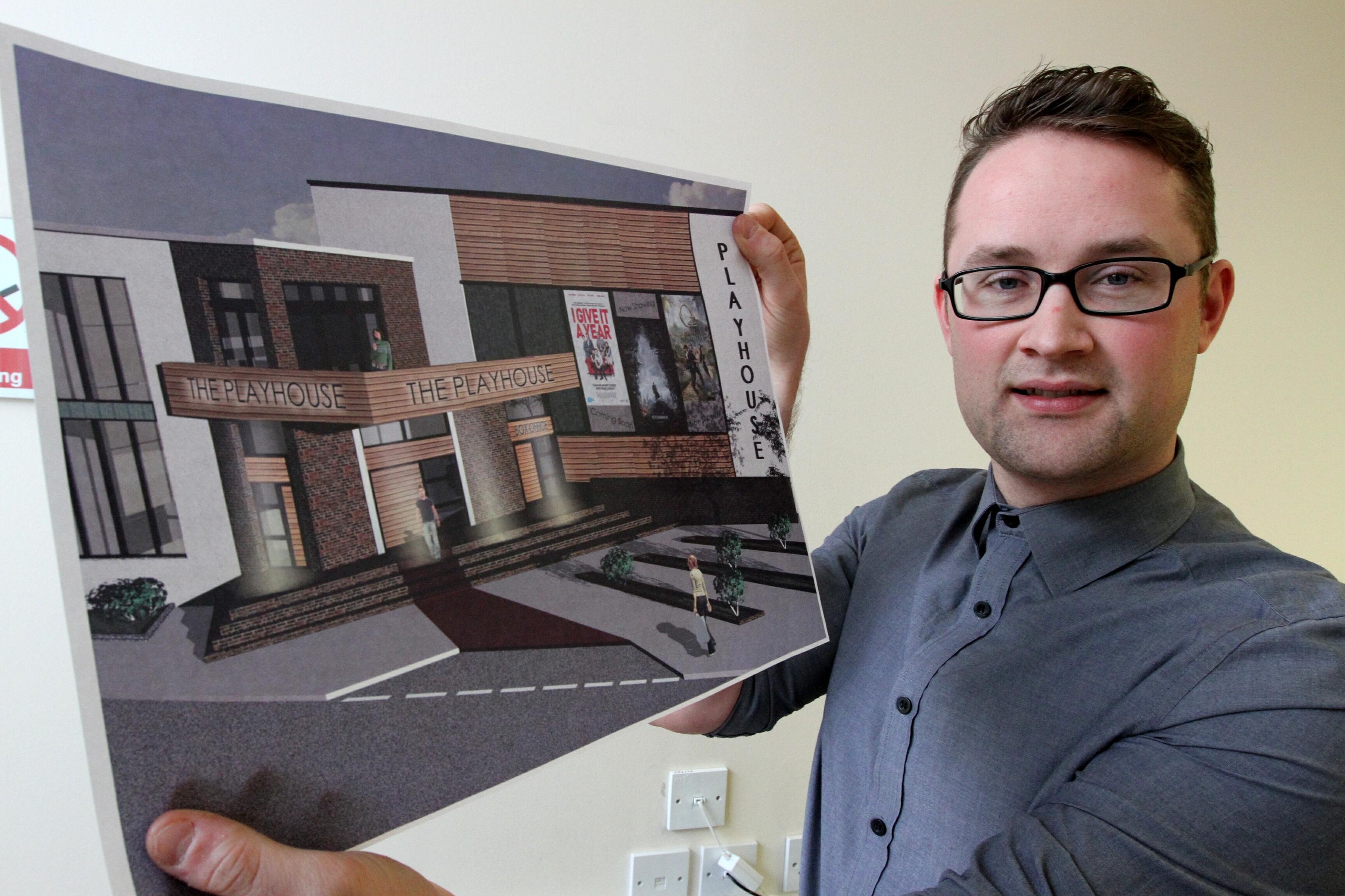 Architect David Paton.