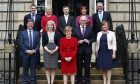 The Scottish Cabinet.
