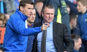 Lee Clark and Lee McCulloch.