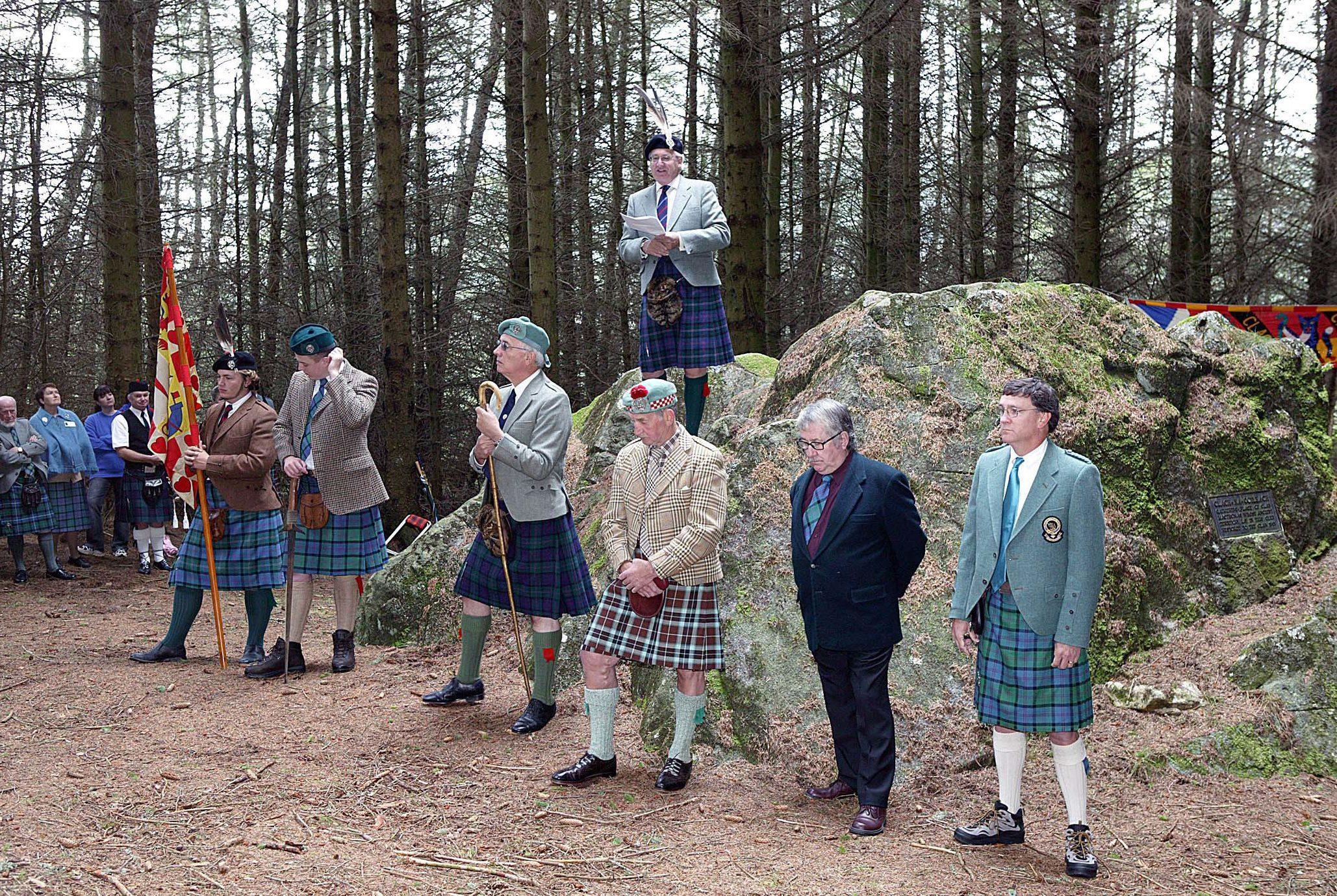 A previous Clan MacThomas gathering in Glenshee.