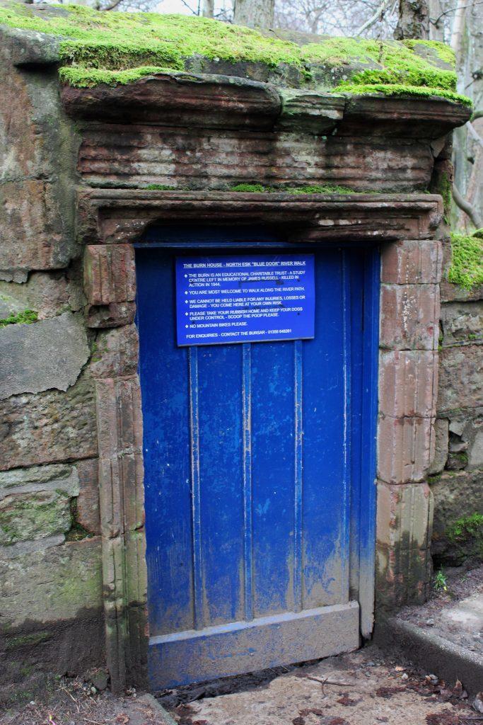 2 - The blue door at Gannochy Bridge - James Carron, Take a Hike