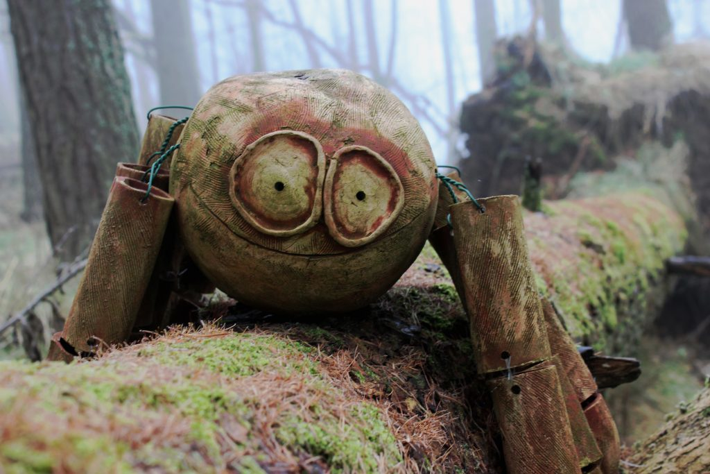 3 - A quirky carving, one of many lurking in the forest - James Carron, Take a Hike