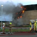Man appears in court charged with starting fire at Dundee docks
