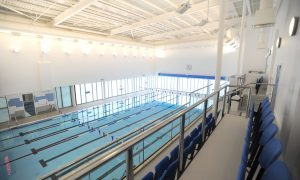 Forfar Falcons swoop on new pool at town campus