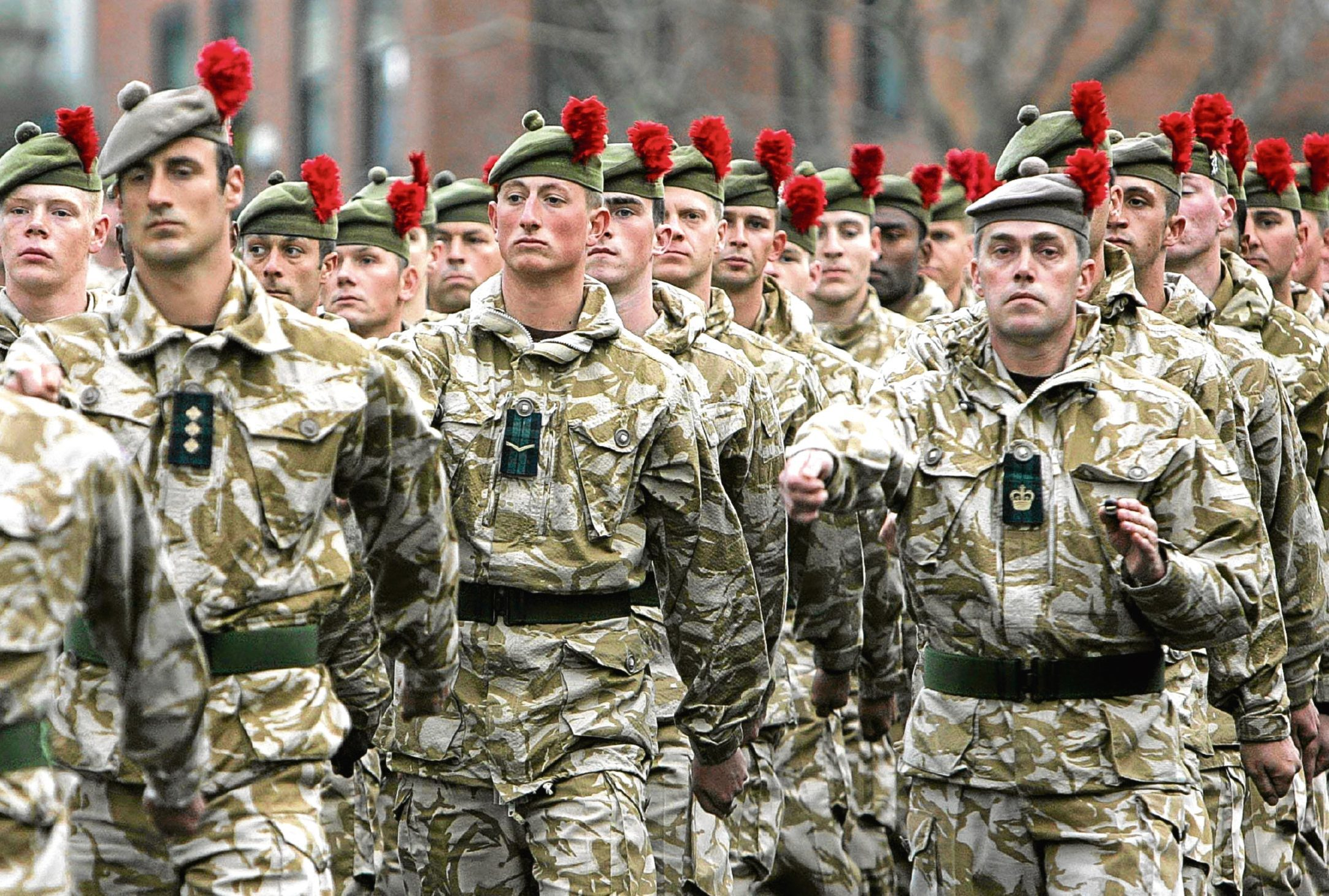 """There are hopes The Black Watch could bring their hackles back """"home"""" to Leuchars."""