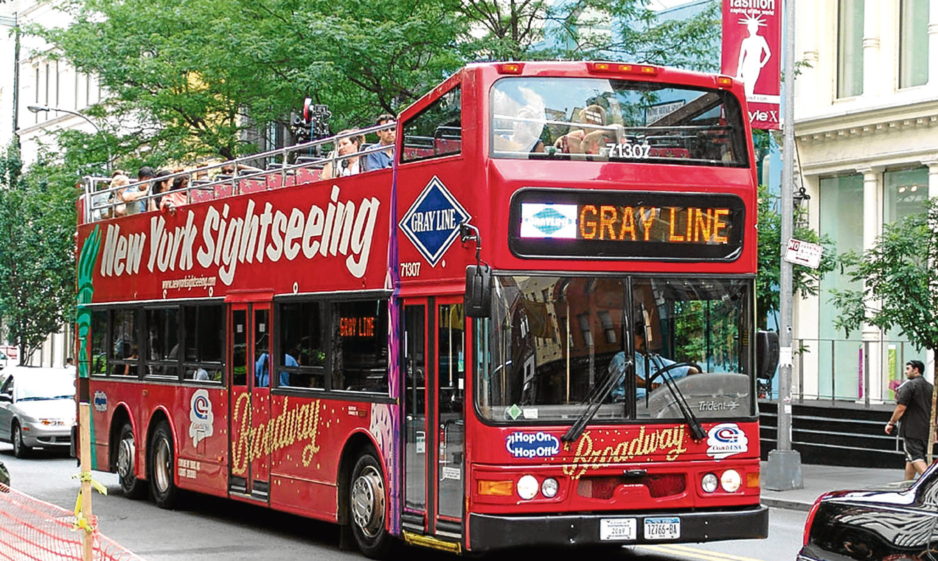 Twin America operates the Gray Line  sightseeing tour business in New York