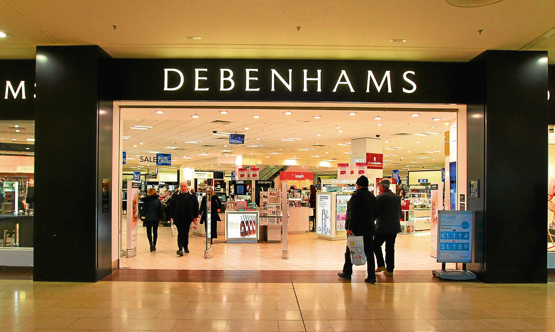 Retail giant Debenhams.