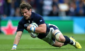 Peter Horne is back for Glasgow with a new three year contract against Ulster in Belfast.