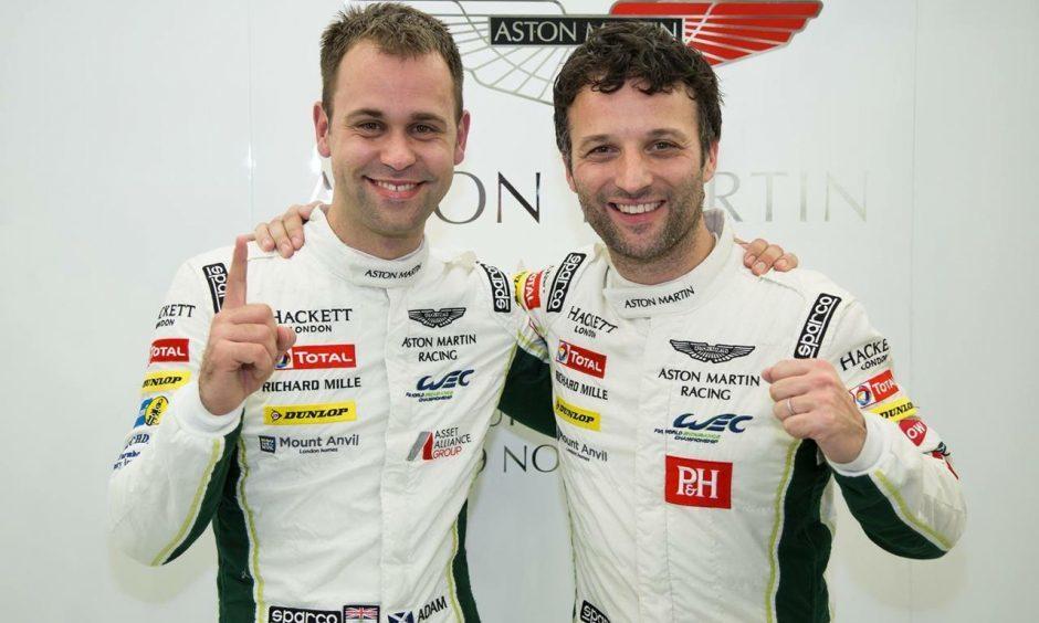 Jonny Adam and Darren Turner