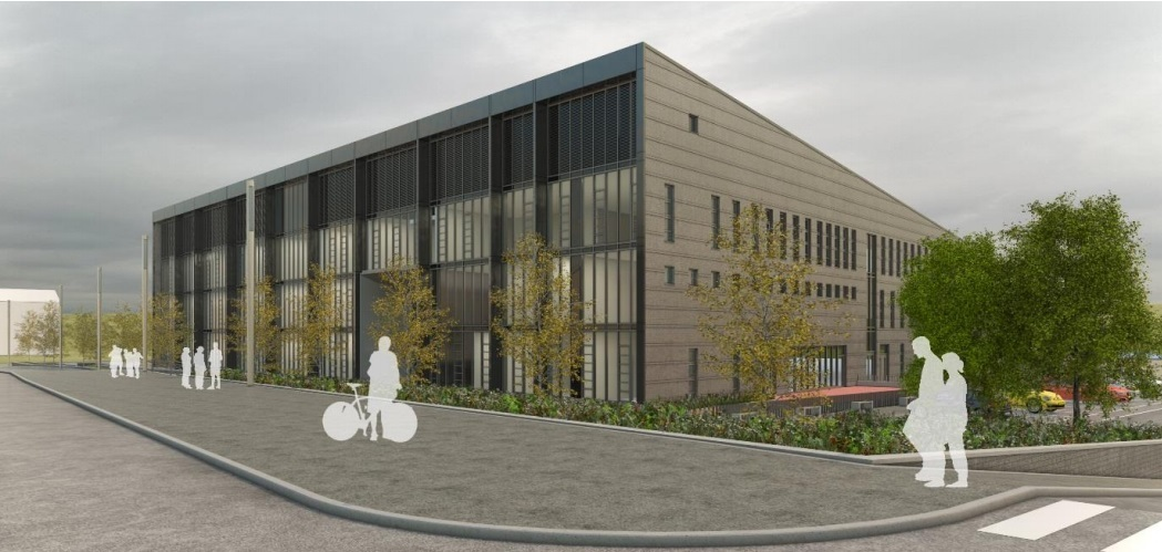 How the new Bertha Park School could look.