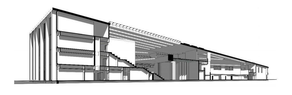 Artist impression of new Bertha Park school
