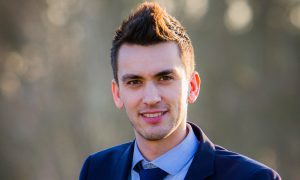 Jason Blyth, teacher at Kinross High School.