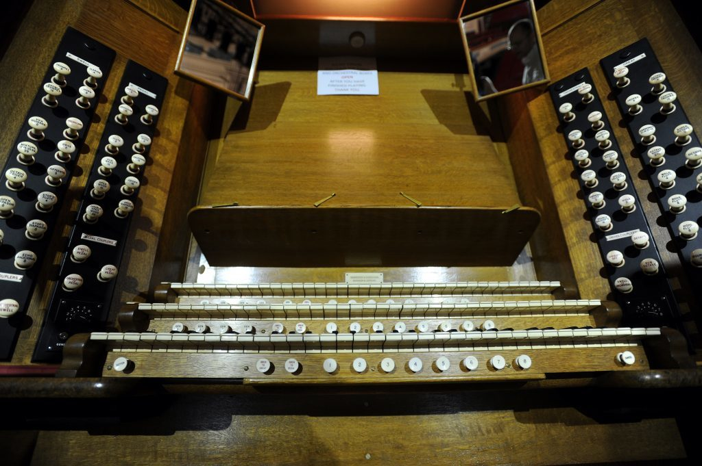 The Caird Hall organ - a magnificent beast.