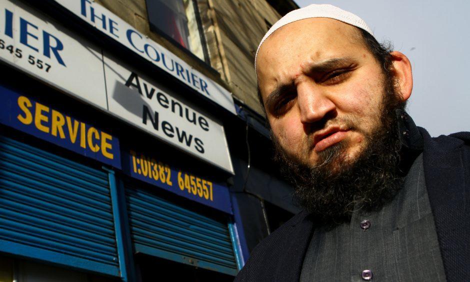 Safiq said around £500 was taken by the knife-wielding robber