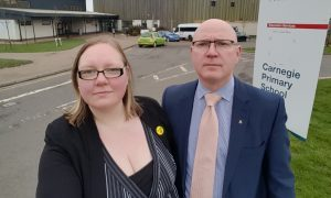SNP councillors Fay Sinclair and Neale Hanvey have voiced concerns over savings proposals put forward by the administration.