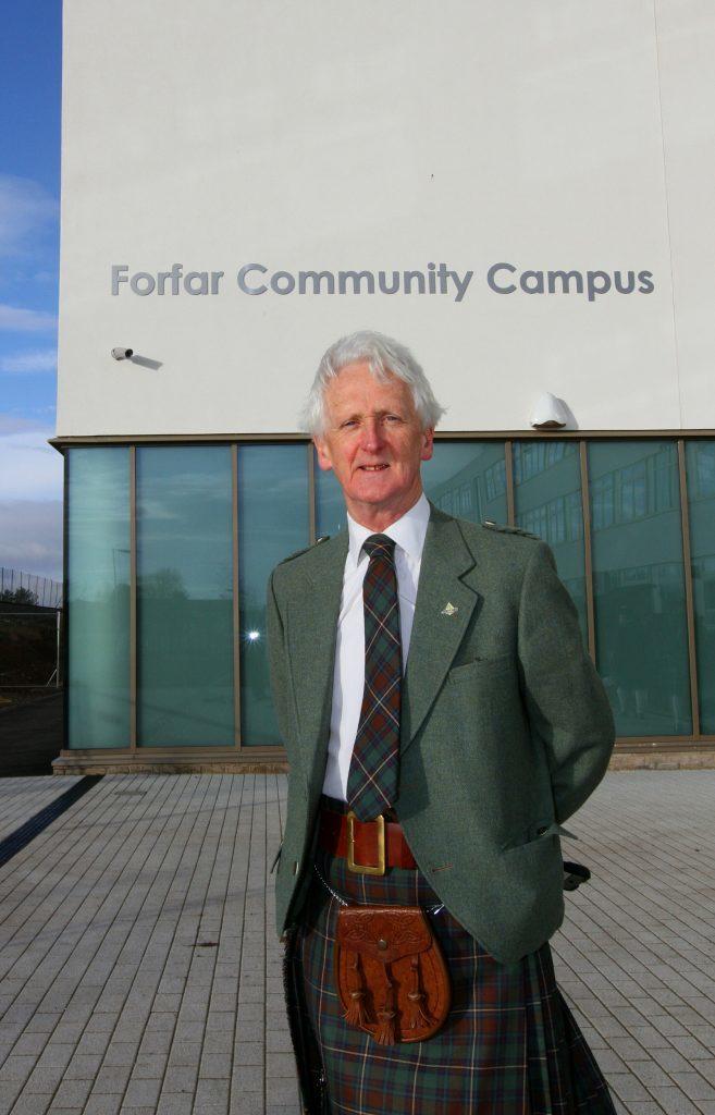 Forfar Academy head teacher Melvyn Lynch
