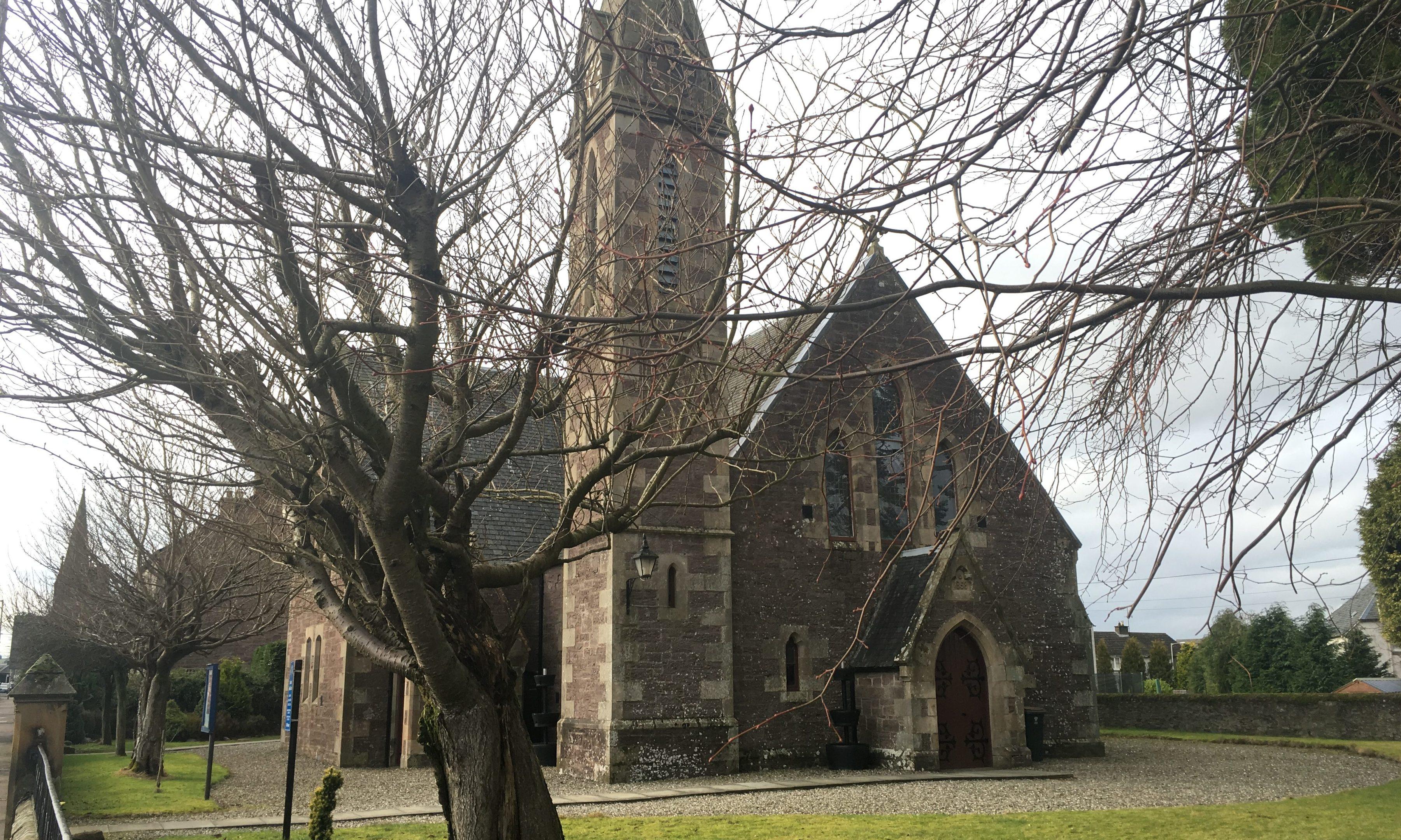 Blackford Parish Church.
