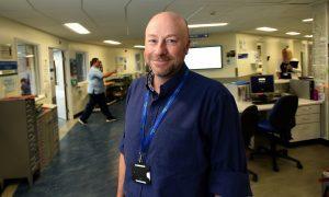 NHS Tayside HR director George Doherty.