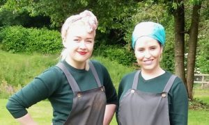 Katie and Chloe could be heading for a prestigious premiere in Edinburgh.