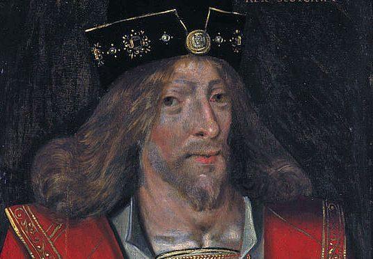 King James I of Scotland.