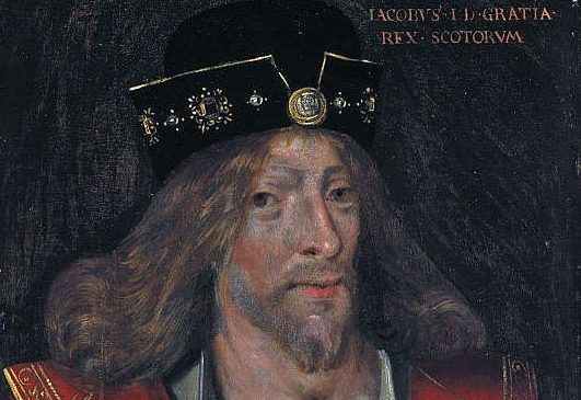King James I of Scotland.