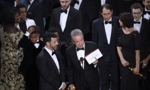 Oscars gaffe brings back memories of previous award-ceremony blunders