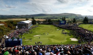 Gleneagles has reined back on tournament golf since the Ryder Cup of 2014.