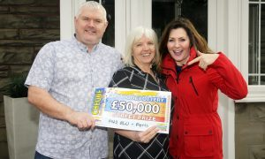 VIDEO: Watch Perth couple win £50,000 on the People's Postcode Lottery