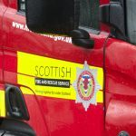 Kirkcaldy girl rushed to hospital after being struck by fire engine
