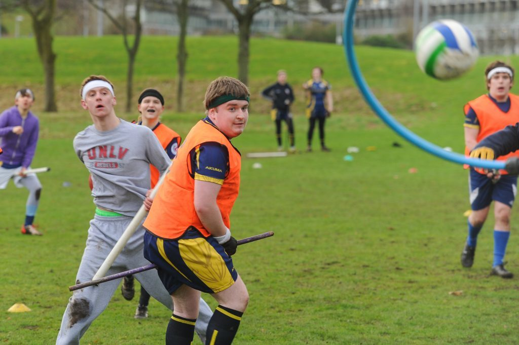 St Andrews Snidgets in action during a training session at North Haugh