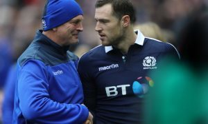 Vern Cotter has kept faith with Tim Visser after his perfromance against Wales.