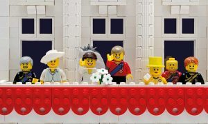 The Royal Wedding in Lego