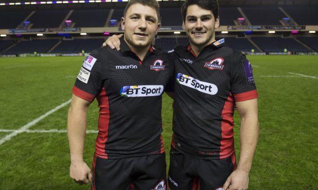 Duncan Weir and Sam Hidalgo-Clyne will gteam up at half-back for Edinburgh at Leinster.