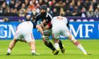 Josh Strauss was most observers' top man for Scotland in Paris on Sunday.