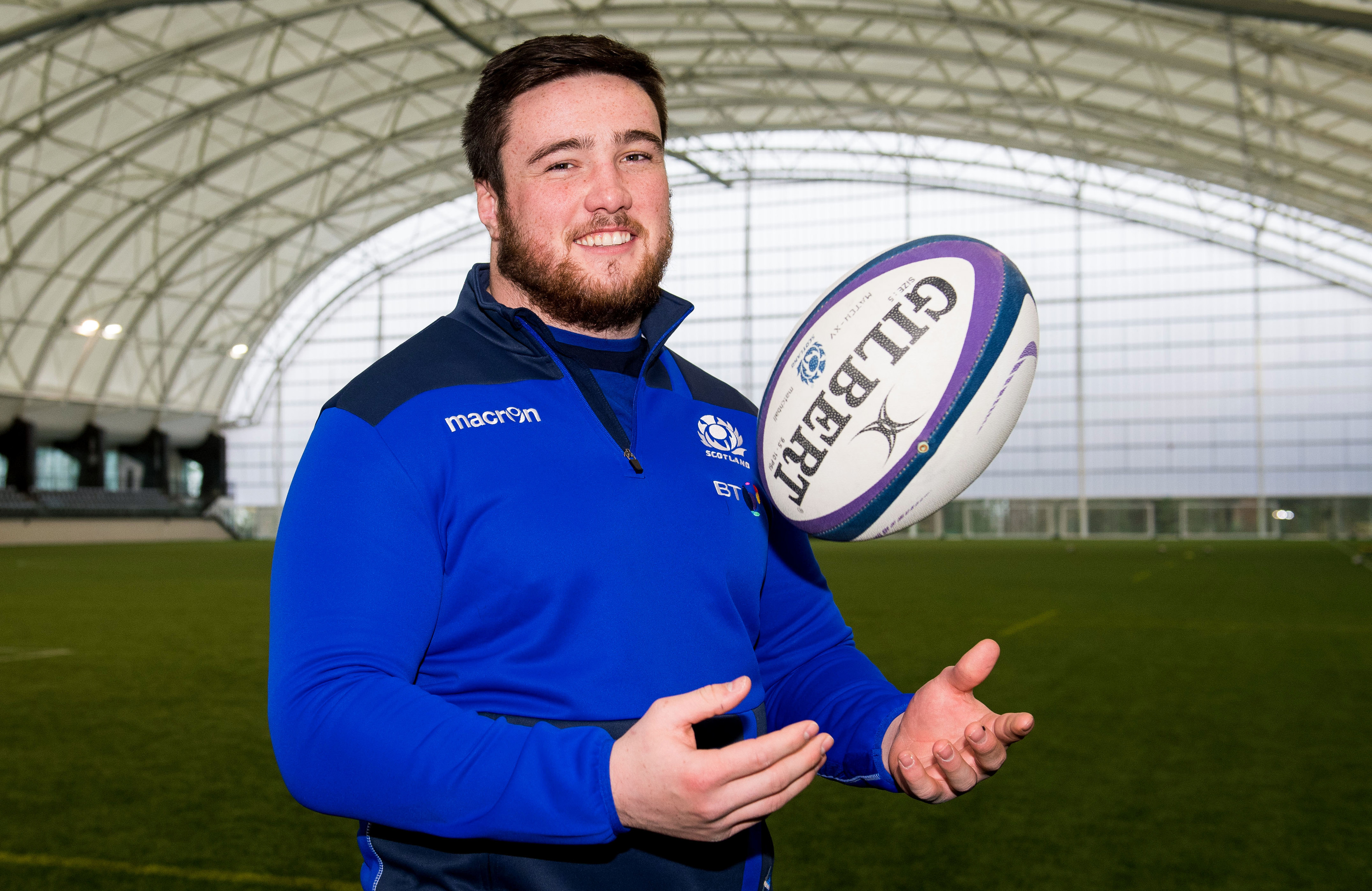Zander Fagerson still has plenty energy after two gruelling weeks in the Six Nations.